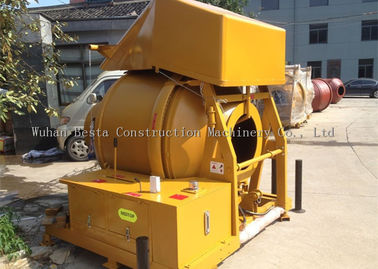 China 60mm Diameter Diesel Concrete Mixer 350 Liter14cbm/hour Productiviteit leverancier